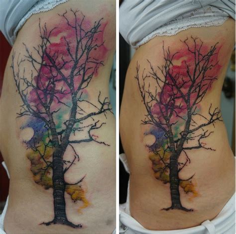 watercolor tree tattoo ideas 16 tattoos you ll want for and summer birds on a