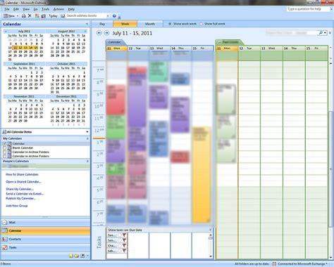Calendar Shared Not Showing Up Windows 7 Calendar Entries Categorized But Not Colored