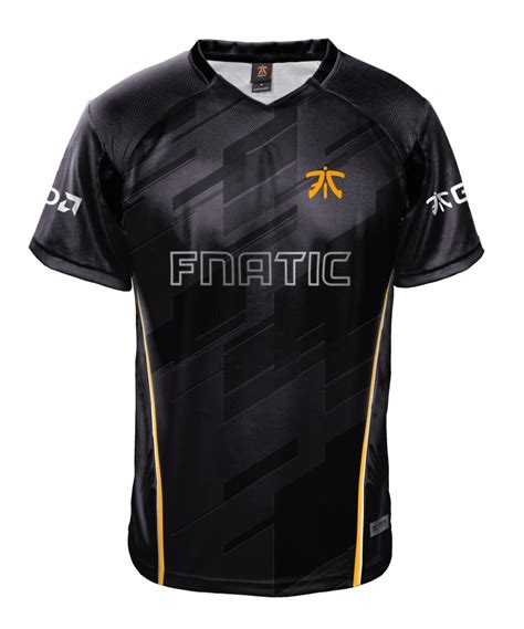 Fnatic Black Gaming Jersey 2012 esports brand fnatic debut s new 2018 team jersey