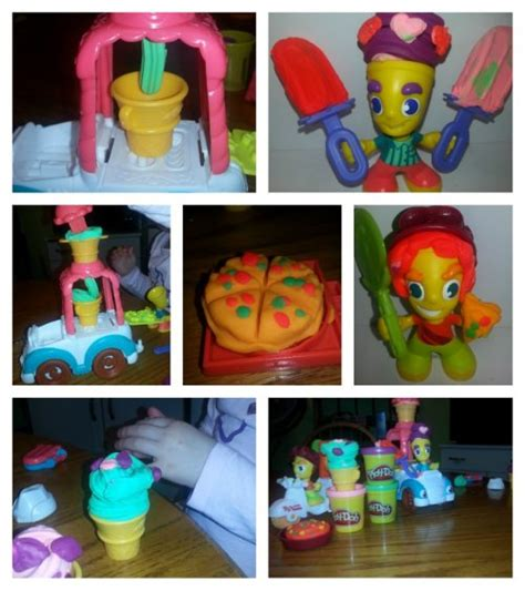 Play Doh Town Boy B5979 building and creating with play doh town today s