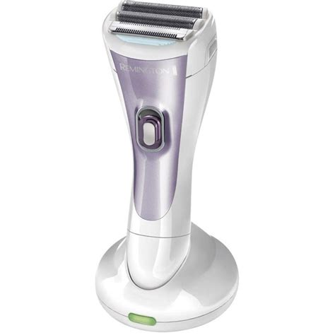 how to use ladies shaver image lady shaver remington wdf4840 violet white from conrad com