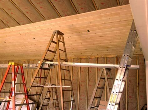 How To Hang Tongue And Groove Ceiling by Tongue And Groove Ceiling Install Questions