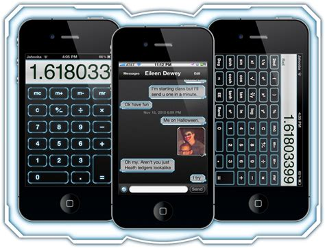 themes dialer iphone neurotech hd theme for iphone 4