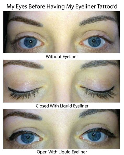 non permanent tattoo semi permanent eyeliner review at whitethorn fields