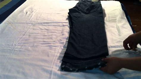 cortar pantalones cortar pantalones arreglar vaqueros youtube