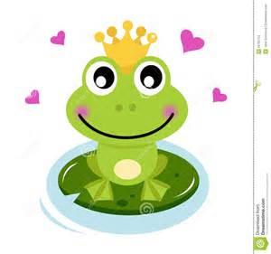 prince mignon grenouille avec des coeurs images stock image 25755754