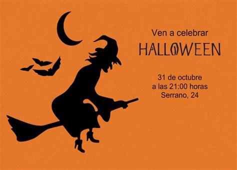 imagenes de halloween invitaciones invitaciones y tarjetas de halloween invitaenunclic