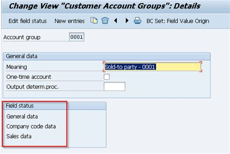 screen layout meaning define account groups with screen layout customers obd2