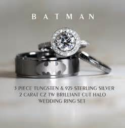 wedding bands with engagement ring geeky yet affordable wedding rings youbentmywookie