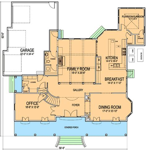 house plan 2913 sqare feet new orleans style house plan architectural designs