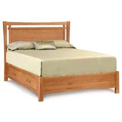 copeland monterey wood platform storage bed