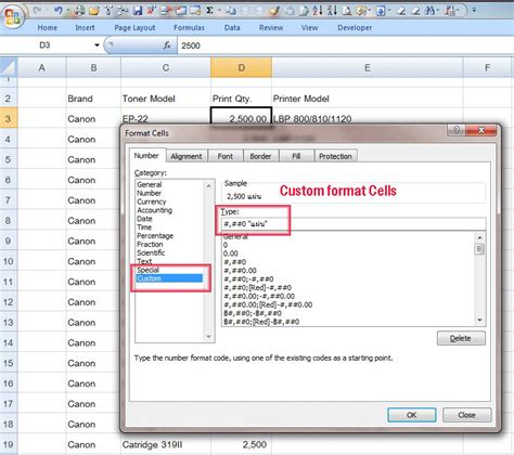 format cells in excel 2007 custom custom format cells ใน excel แบบตามใจฉ น