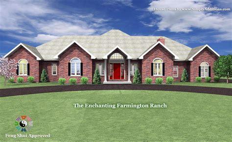 the ranch house the enchanting farmington ranch house plan