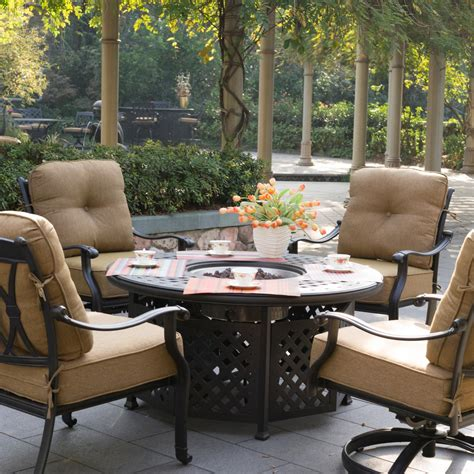 costco patio sets table fire pit set clearance furniture