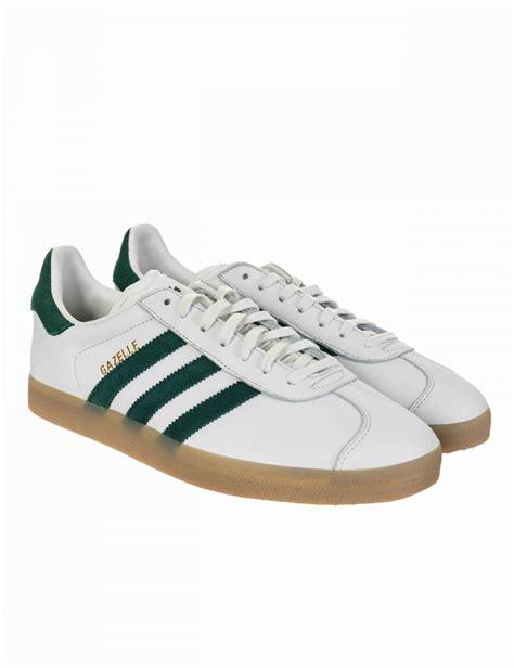 adidas originals gazelle og shoes vintage white collegiate green adidas originals from