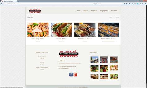 web design cafe sydney kitchen express perth web agency