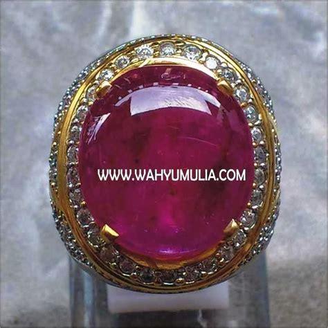 Ruby Afrika Merah Delima batu permata ruby big size sold toko batu permata
