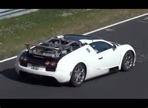 Newest Bugatti Veyron New Bugatti Veyron Prototype Spotted Hybrid