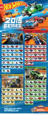 Wheels Truck List 2015 Annual Hw Mainline Posters Offer Wave 4 Available Now