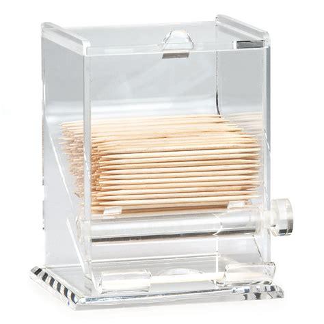 acrylic toothpick dispenser tablecraft 228 toothpick dispenser acrylic clear