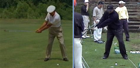 ben hogan swing lesson ben hogan s golf swing face on rotaryswing com