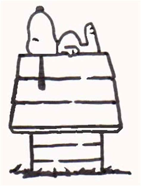 snoopy on the dog house snoopy dog house clipart 11