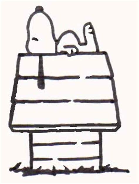 printable snoopy house snoopy dog house clipart 11