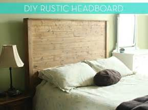 how to make a diy rustic modern bed frame and headboard