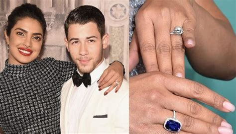 image of priyanka chopra engagement ring our favourite celebrity engagement rings of 2018 commins