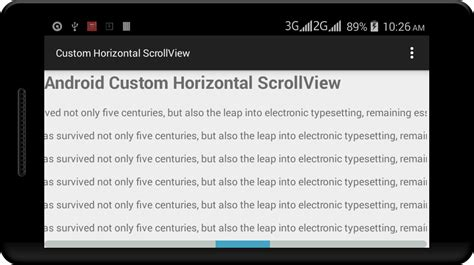 android scrollview exle android custom horizontal scrollview exle viral android tutorials exles ux ui design