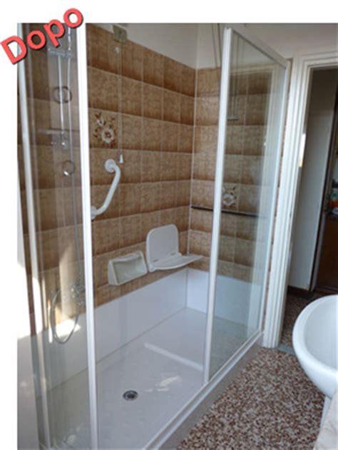 doccia al posto della vasca free doccia al posto della vasca da bagno prezzi with