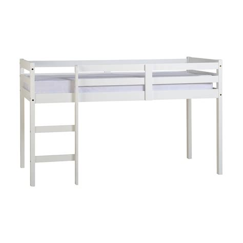 White Metal Mid Sleeper by Mid Sleeper Cabin Beds Next Day Select Day Delivery