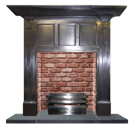20th Century Fireplaces by 20th Century Arts And Craft Semi Polished Fireplace Cast
