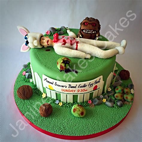 Home Decorating Images critters 2 easter cake janine makes sinister cakes