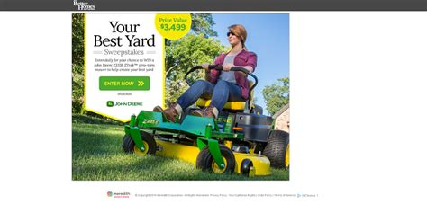 Bhg Giveaway - bhg com deeregiveaway bhg your best backyard sweepstakes sweepstakes lovers