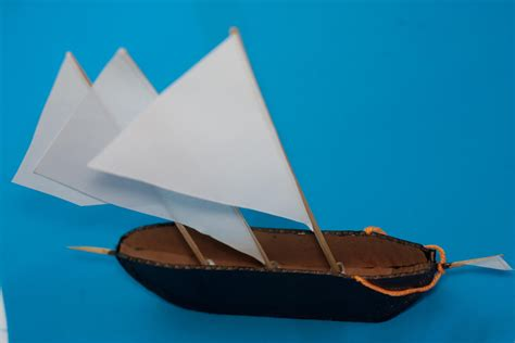 How To Make A Paper Battleship - how to make a cardboard ship with pictures wikihow