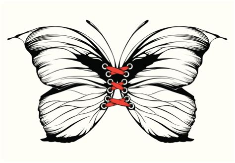 butterfly tattoo clipart insect monarch butterfly butterfly tattoo clip art vector