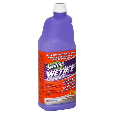swiffer wetjet household floor cleaner fresh citrus scent 1 lt food grocery cleaning