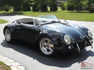 Porsche Speedster Replica Kit Porsche 1956 356 Gtr Wide Speedster Convertible