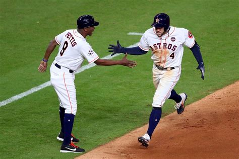 world series 2017 astros dodgers combine for home run