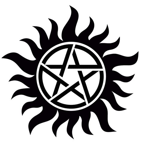 image anti possession tattoo hd png supernatural wiki