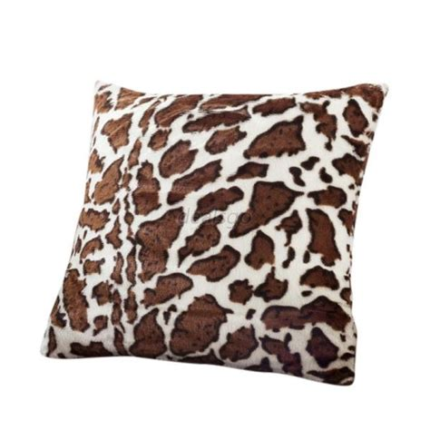 Animal Print Pillow Cases by Animal Zebra Leopard Print Pillow Sofa Waist Throw