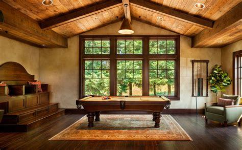 rustic family room innovative american heritage billiards look portland