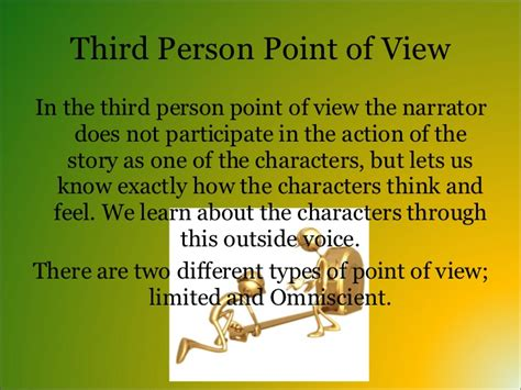 the point of the a novel of the 20th century books point of view in a story powerpoint