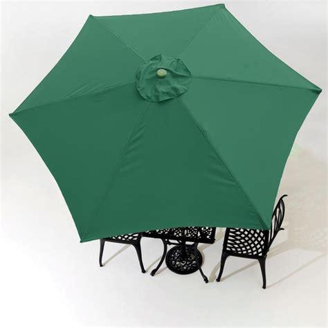 9ft patio umbrella 9ft patio umbrella replacement canopy 6 rib outdoor market