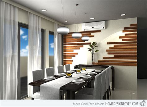 accent wall panel dining room contemporary with geometric 15 delightful dining rooms with wooden wall panels home