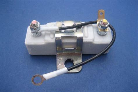 ballast resistor ignition coils ballast resistor 1 6 ohms