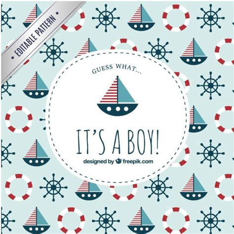 nautical pattern vector free baby shower label on nautical pattern vector free download