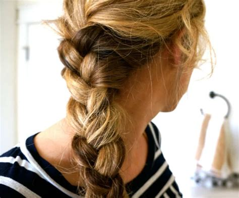pearl french braids 10 ways to style your hair to survive a workout hello glow