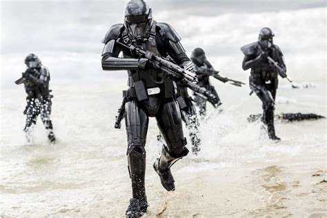 here s the concept art that inspired the robot from the star wars rogue one death troopers inspired by original